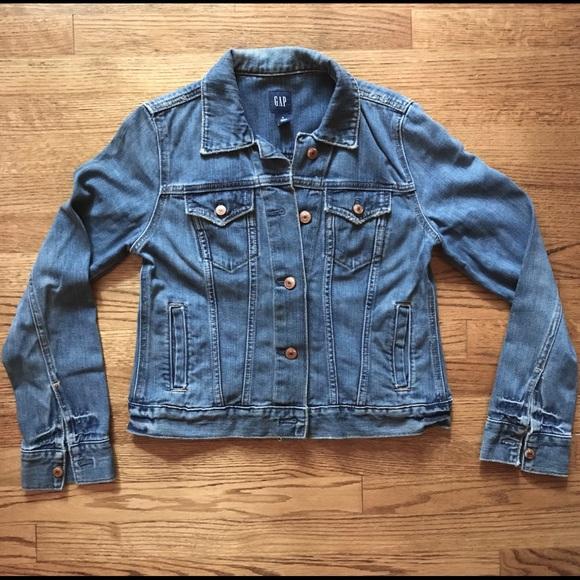 38d5a0ba408 GAP Jackets & Coats | Classic Distressed Jean Jacket | Poshmark